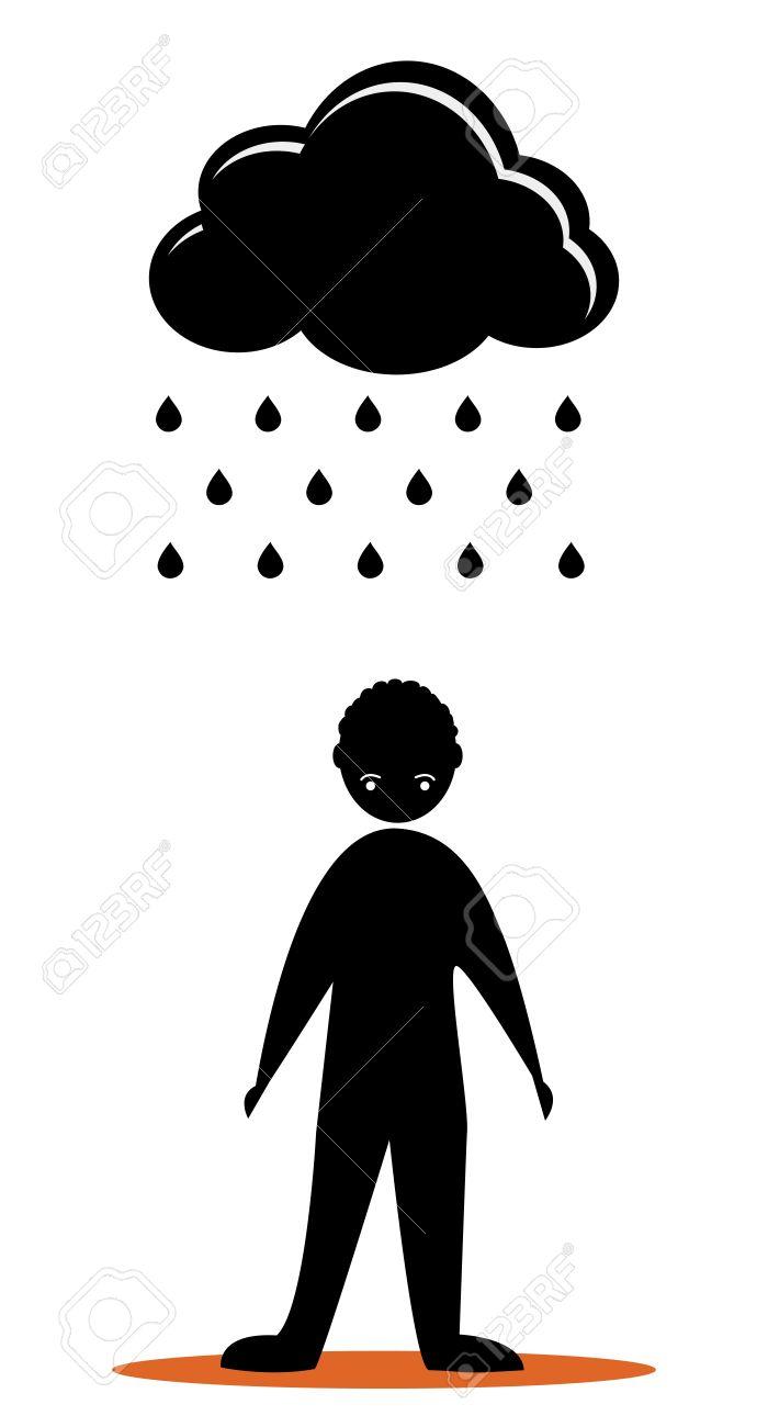 Ici, postez une chose négative de votre journée - Page 2 12933419-les-hommes-tristes-avec-nuage-noir-Banque-d'images