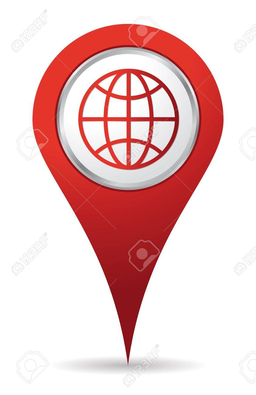 Image result for Location red colour