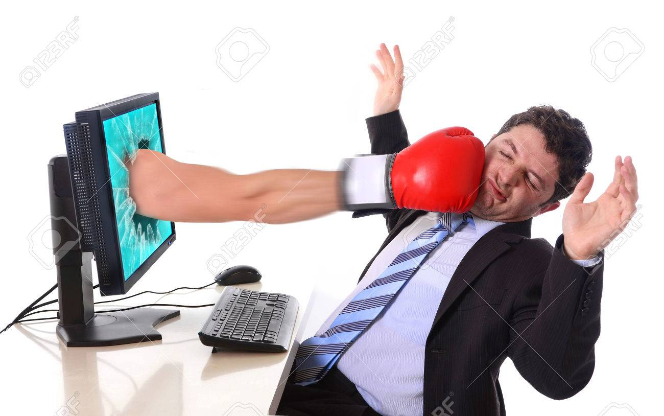 Image result for computer stress