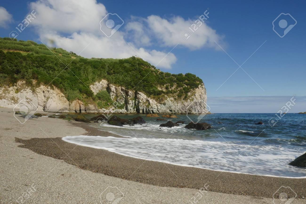 Erstaunliche Schone Seelandschaftsansicht Von Moinhos Strand An