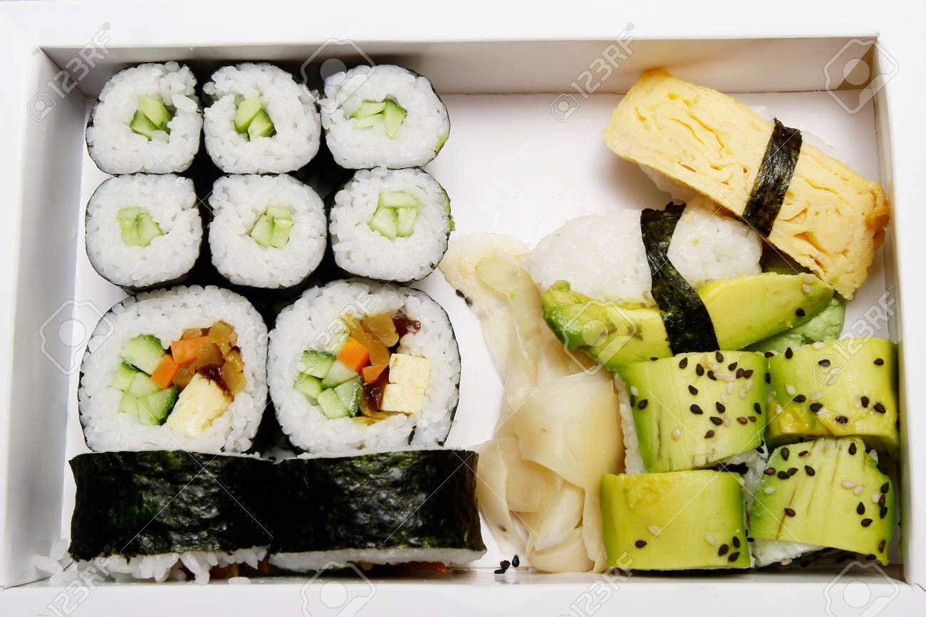 Japanische Küche Vegetarisch   Bento Box Vegetarisches Sushi Japanische Kuche Fast Food
