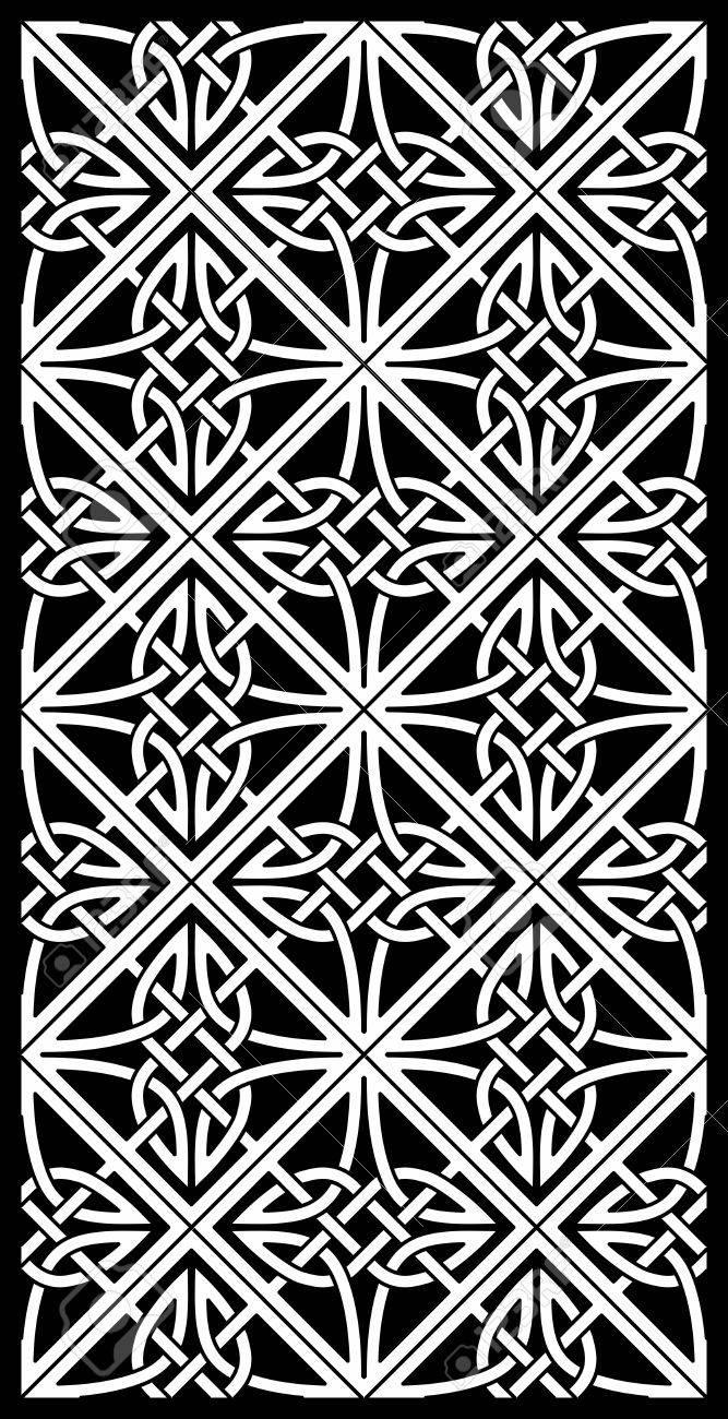 celtic ornamental knotwork Stock Vector - 17929559