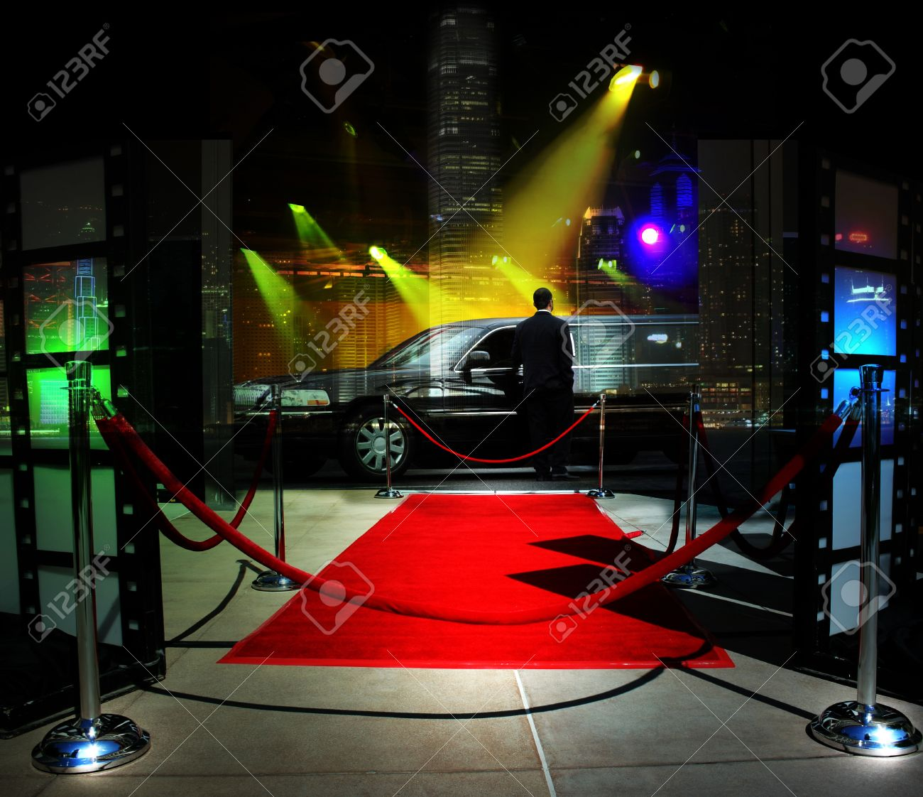 Red carpet event in downtown Stock Photo - 10243727