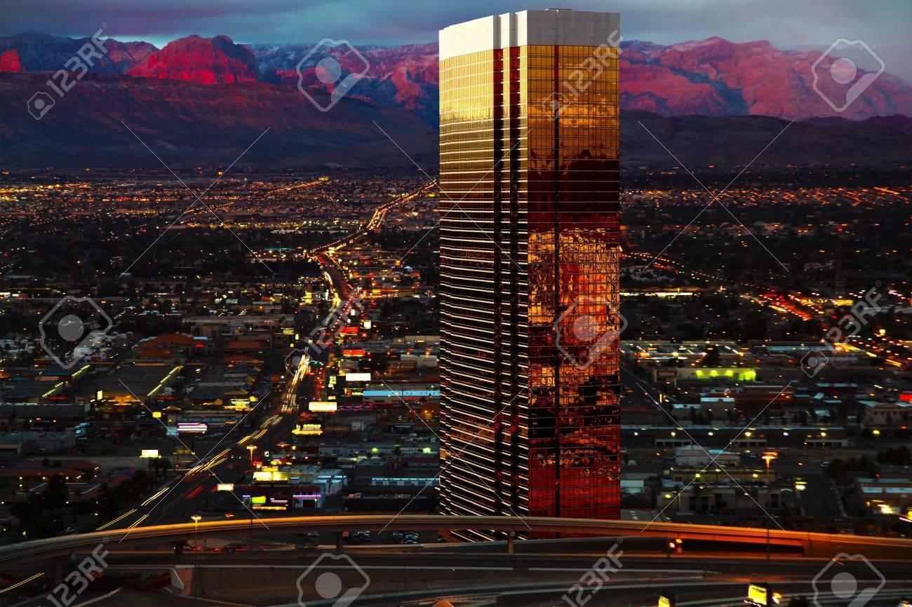 Aerial view of Las Vegas Stock Photo - 14242375