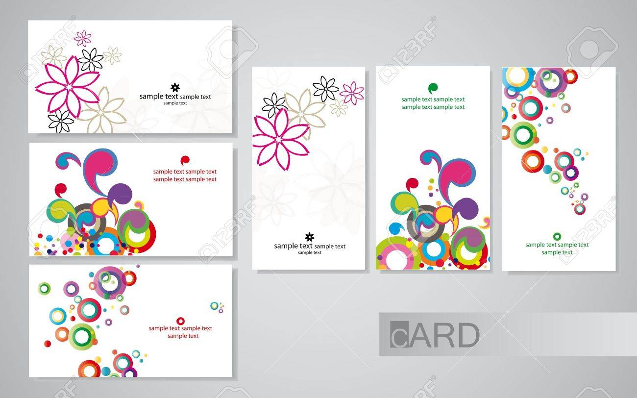 business cards Stock Vector - 9679787