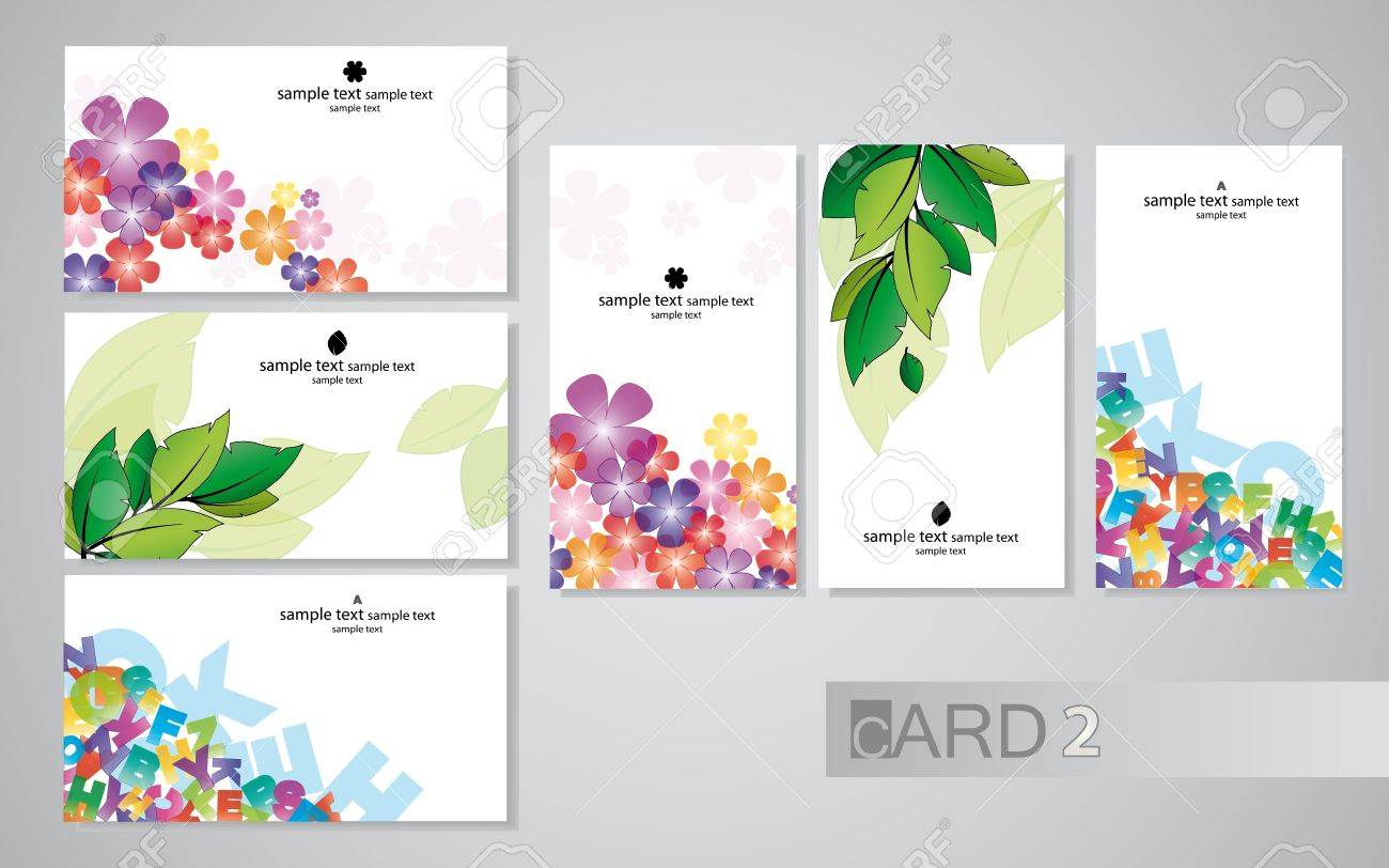business cards 2 Stock Vector - 9679788