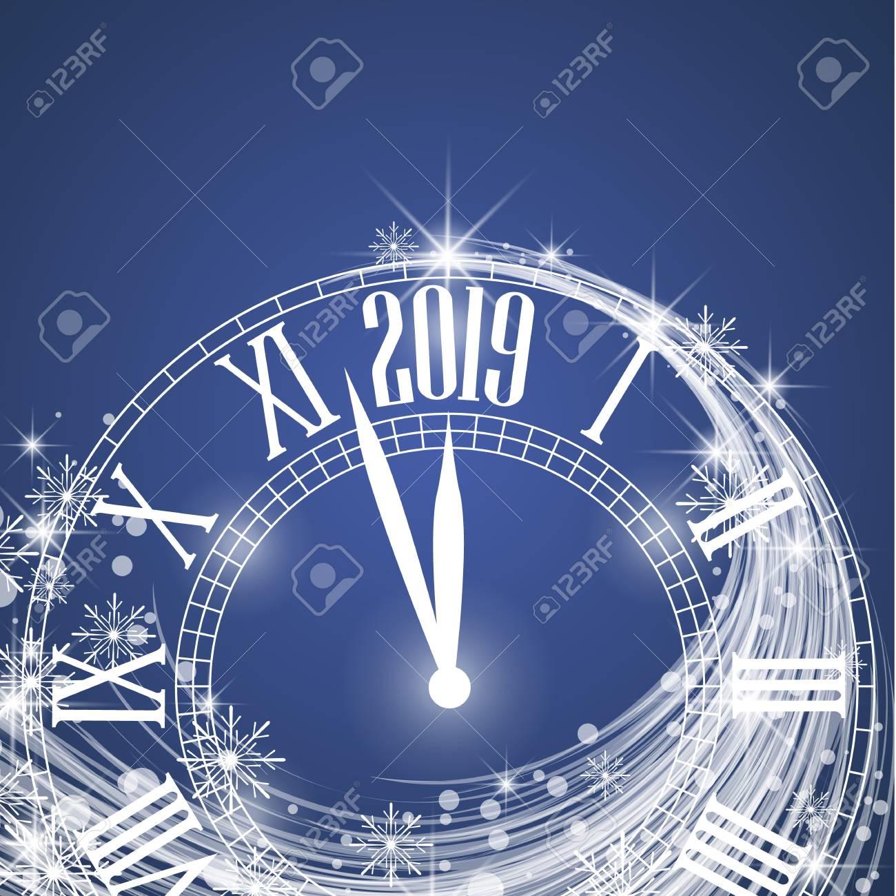 FELIZ AÑO 2019 89265220-feliz-a%C3%B1o-nuevo-2019-ilustraci%C3%B3n-vectorial-fondo-de-navidad-con-reloj-mostrando-a%C3%B1o