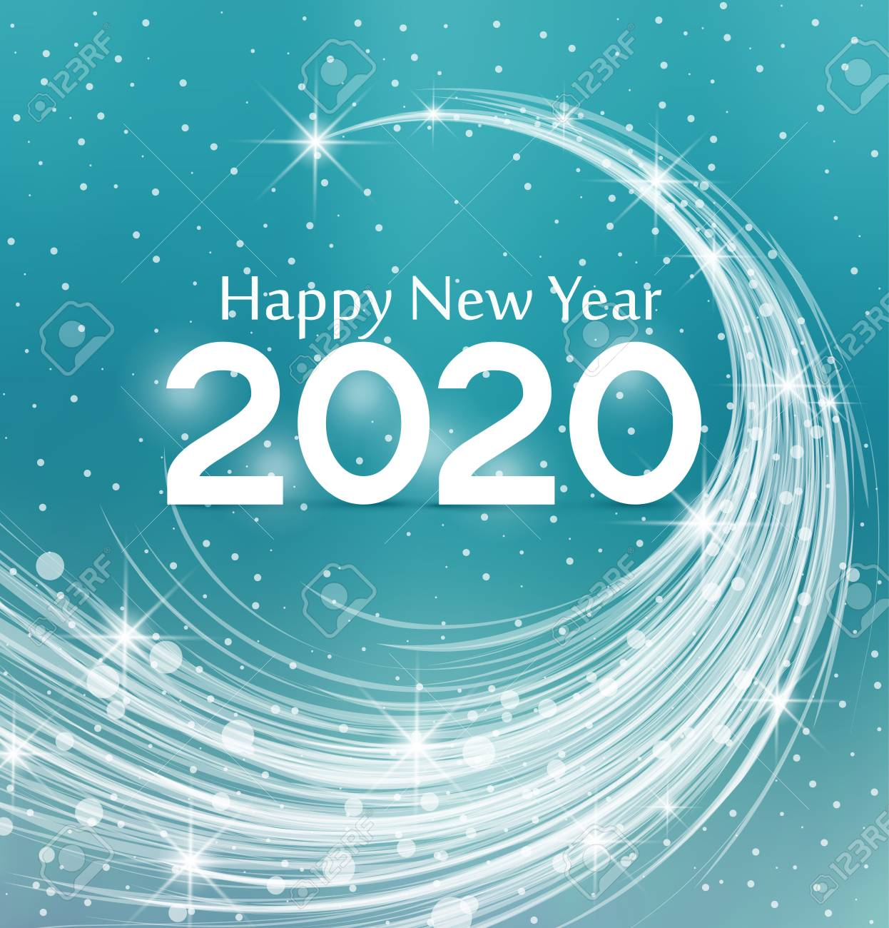 Happy New Year Clipart 2020 25