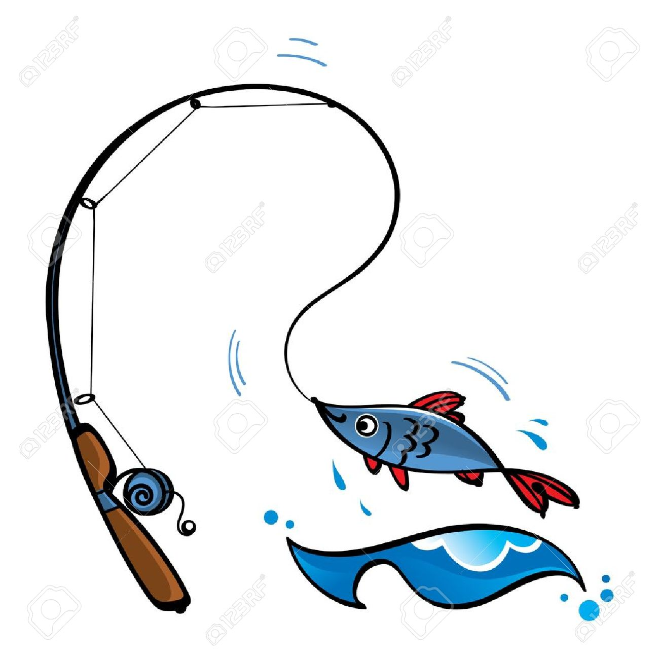 8,583 Fishing Rod Stock Vector Illustration And Royalty Free ...