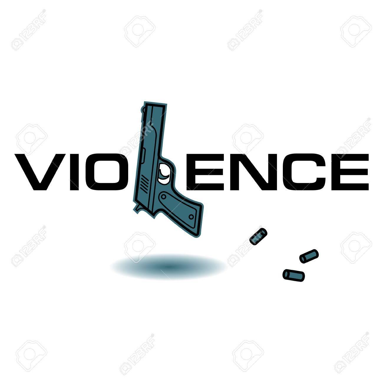 Violence crime killing gun weapon bullets pistol royalty free violence crime killing gun weapon bullets pistol stock vector 18063012 buycottarizona