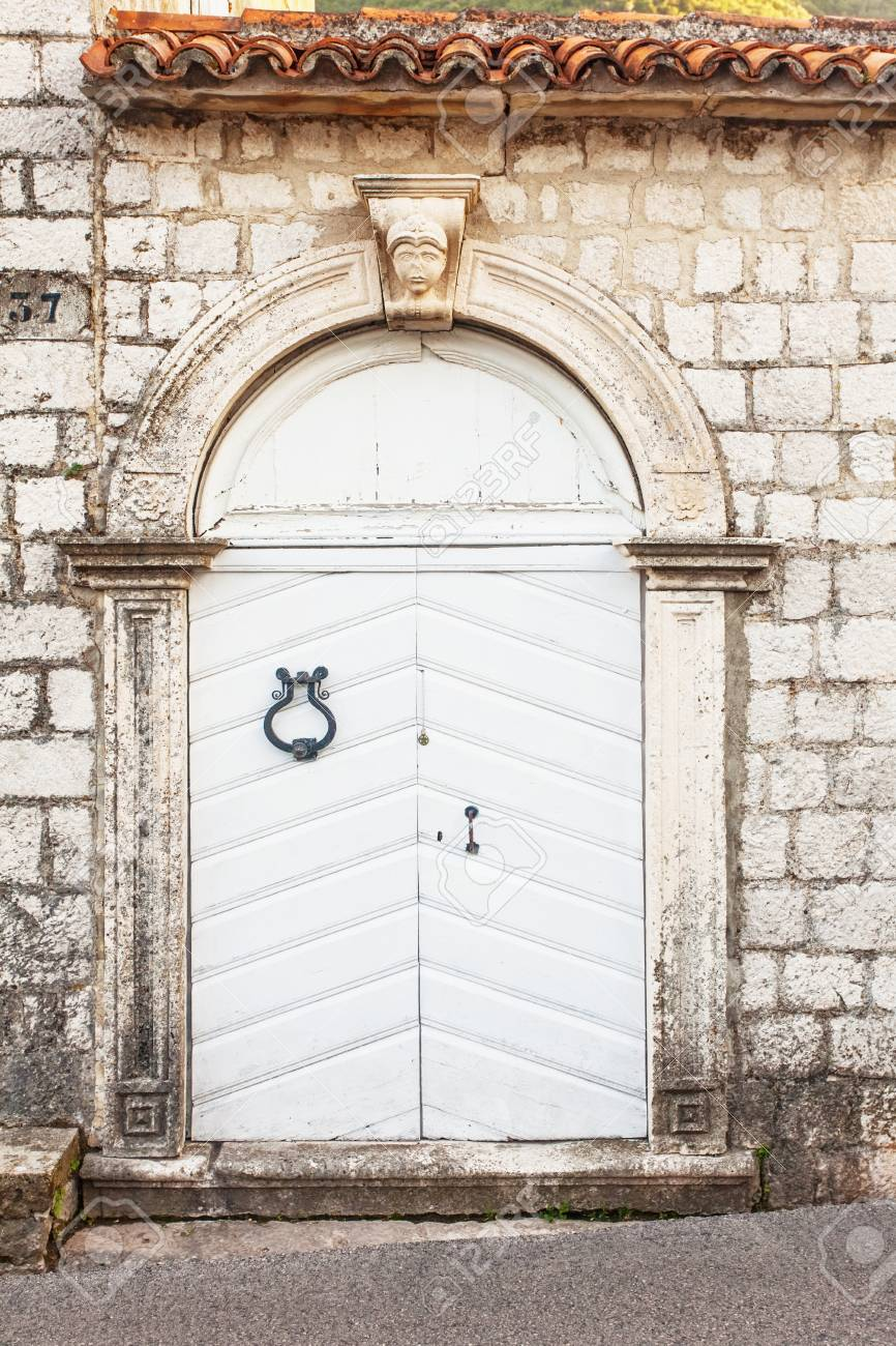 close-up image of ancient wooden door Stock Photo - 16217094