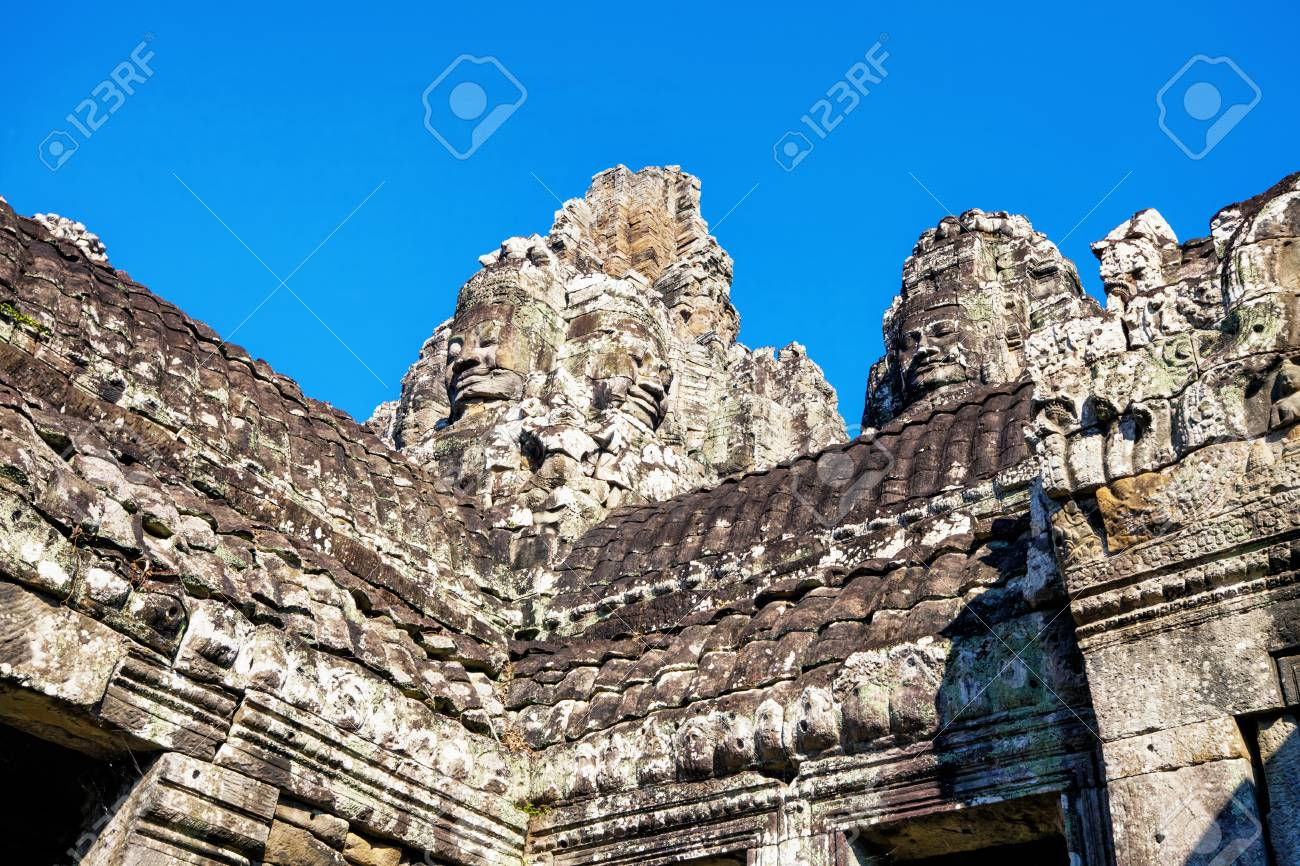Angkor Wat Temple, Siem reap, Cambodia Stock Photo - 17195883