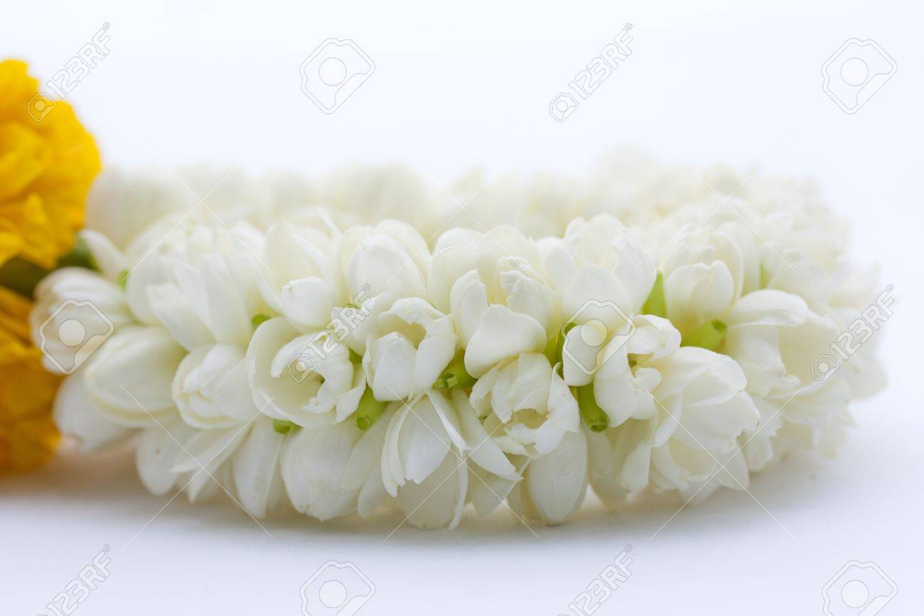 Artificial Jasmine Flowers For Hair Wedding Jasmine Set Jasmine