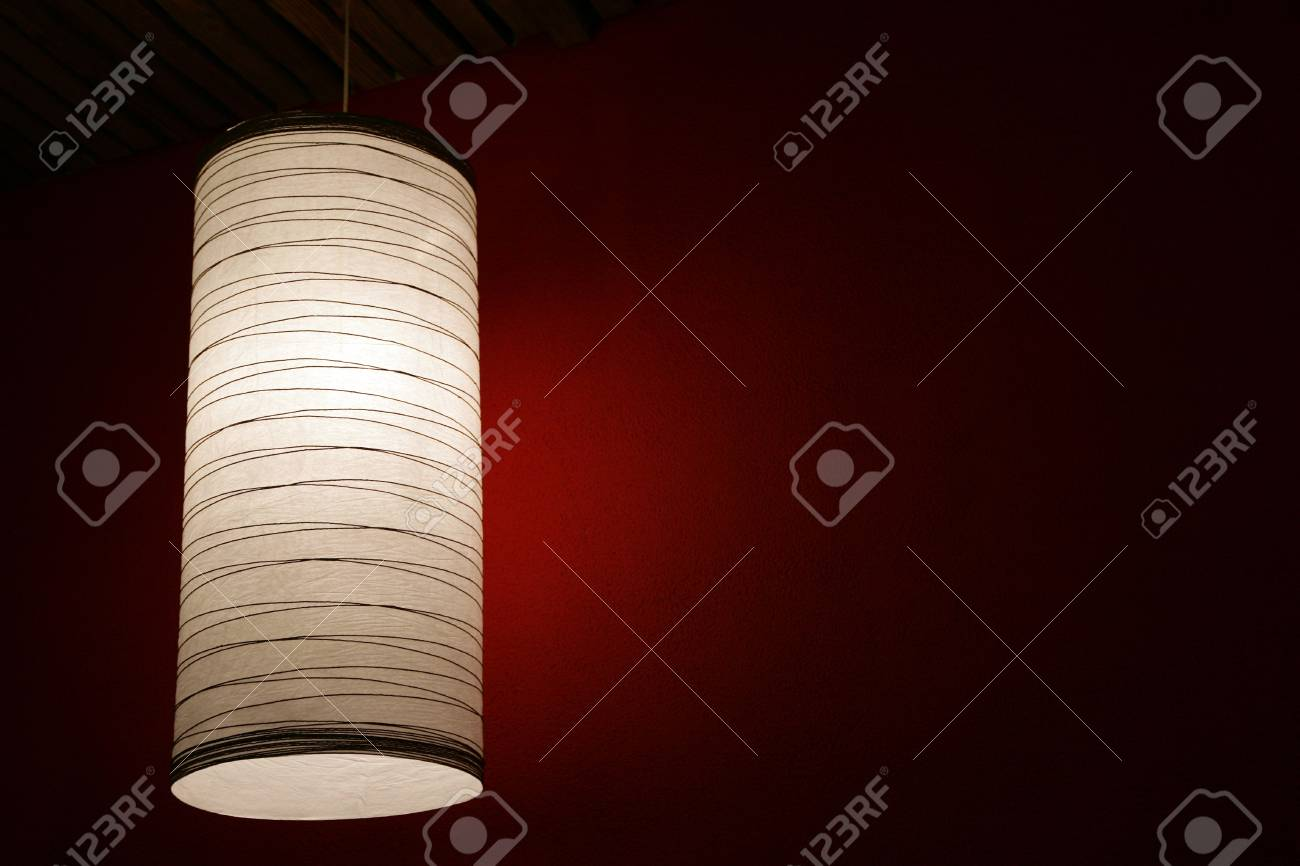 The electric fixture with a lamp shade, in a room Stock Photo - 3738220