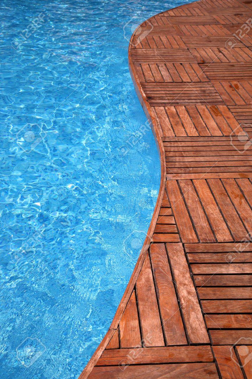 Wooden Pool Decks Pool Deck Stock Photos Royalty Free Pool Deck Images And Pictures