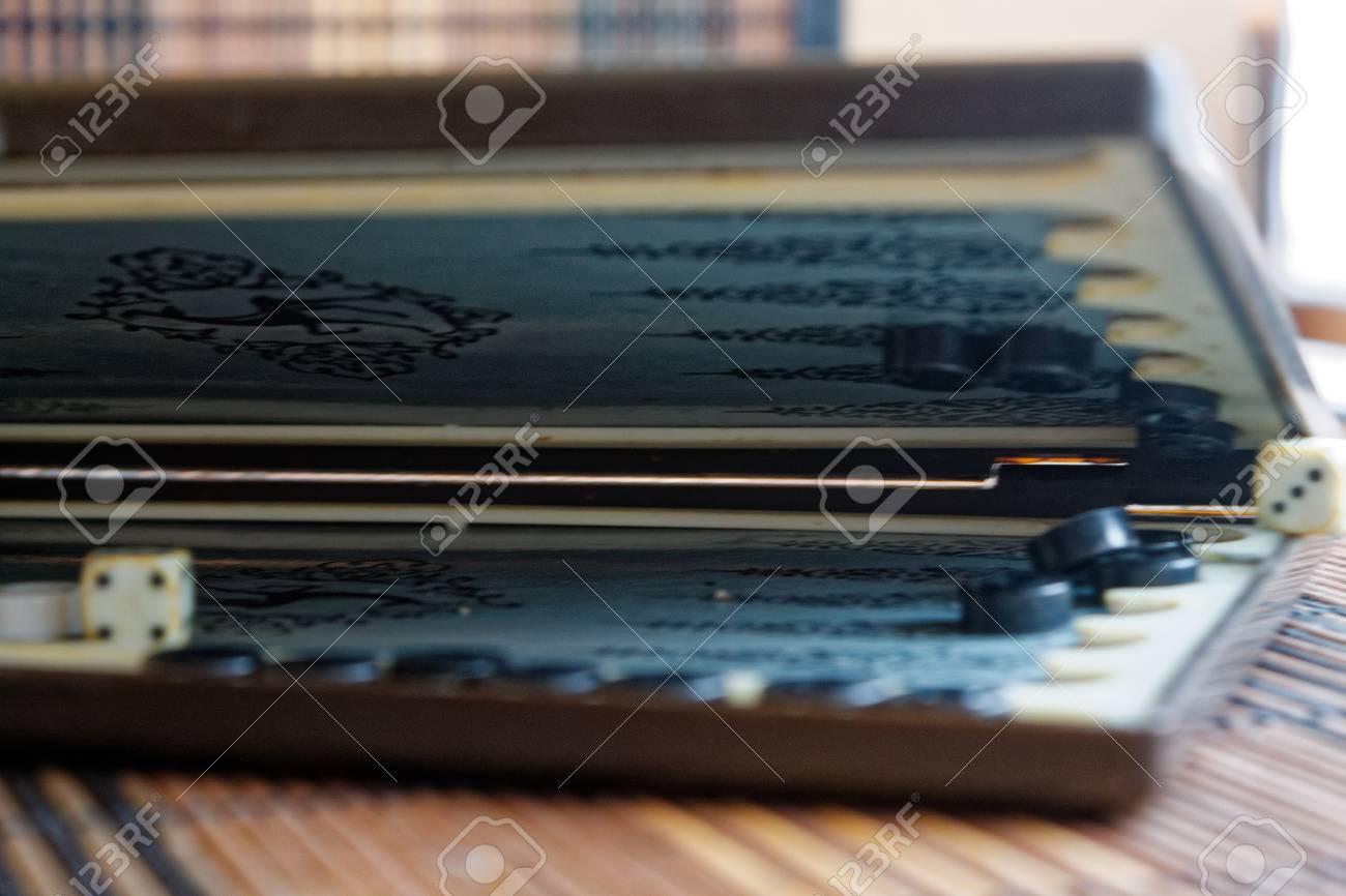 Backgammon Abrio Mini Juego De Mesa Para El Viaje Fotos Retratos