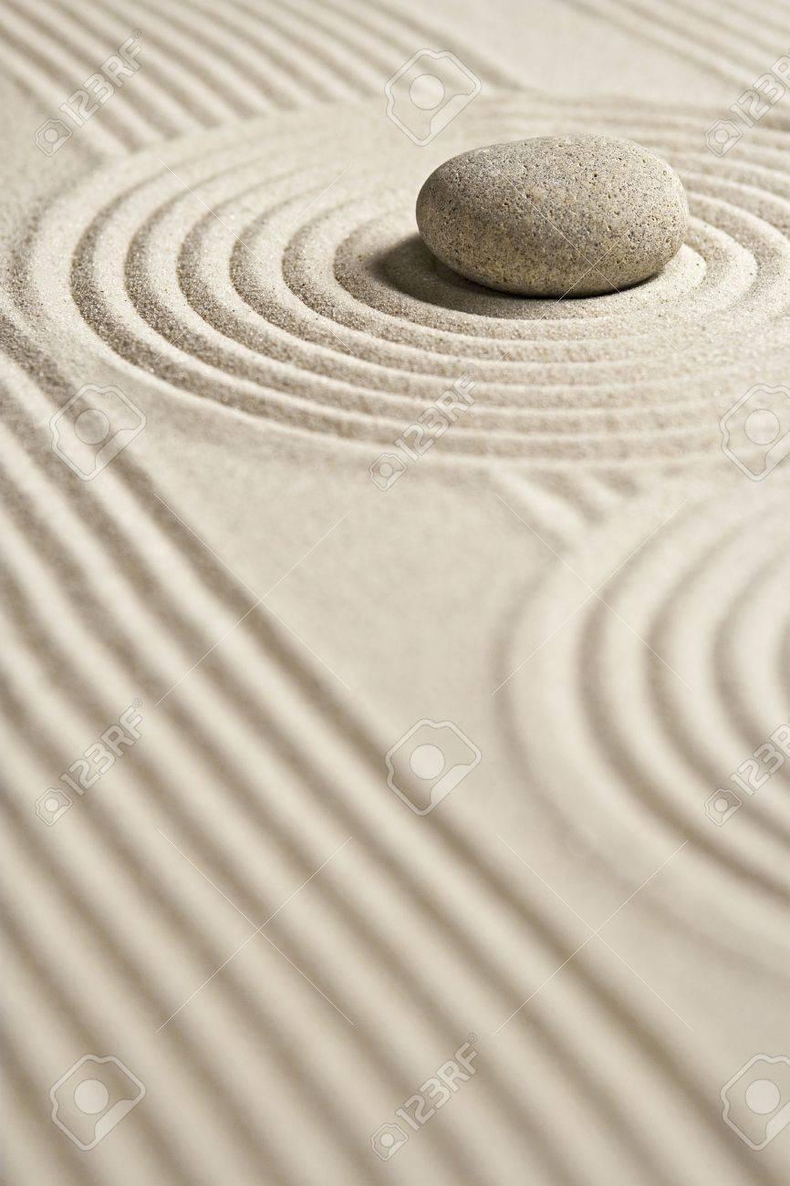 Mini Zen Garden Stock Photo   2832863