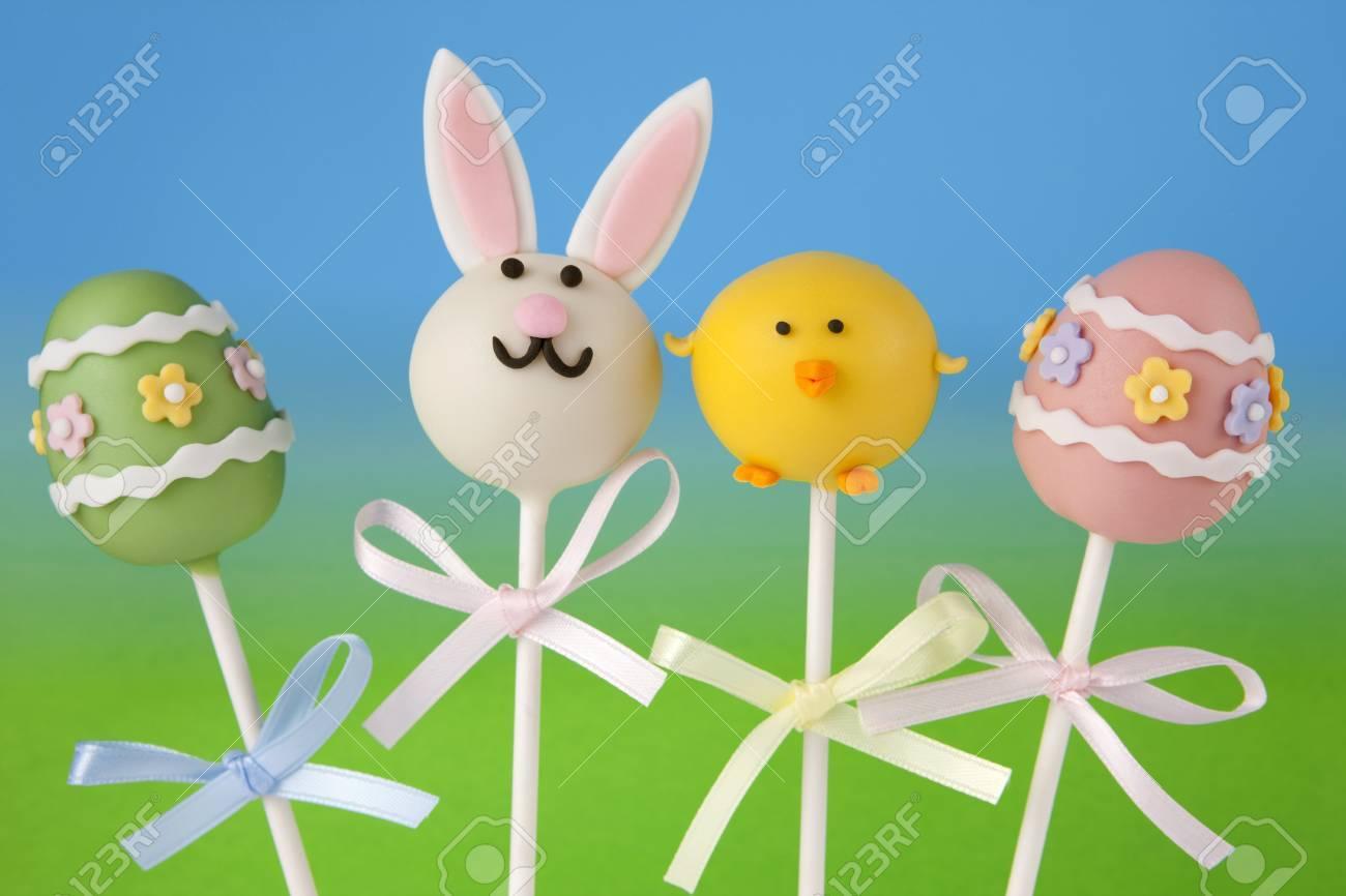 Easter cake pops Stock Photo - 12330942