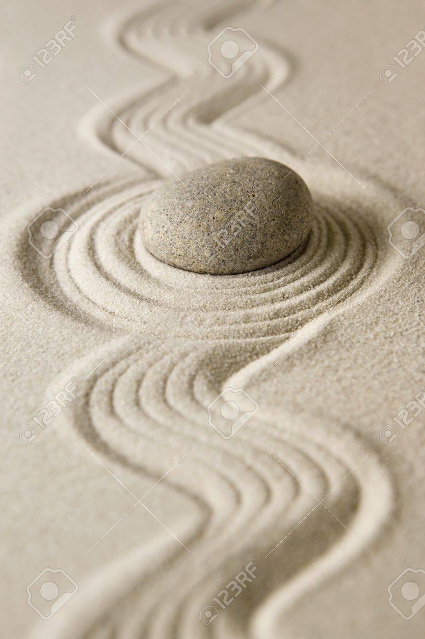 Zen stone Stock Photo - 12330944