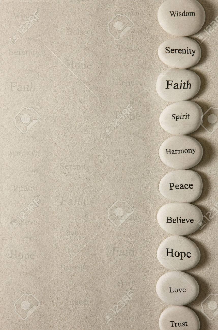 Inspirational stones - 24694661