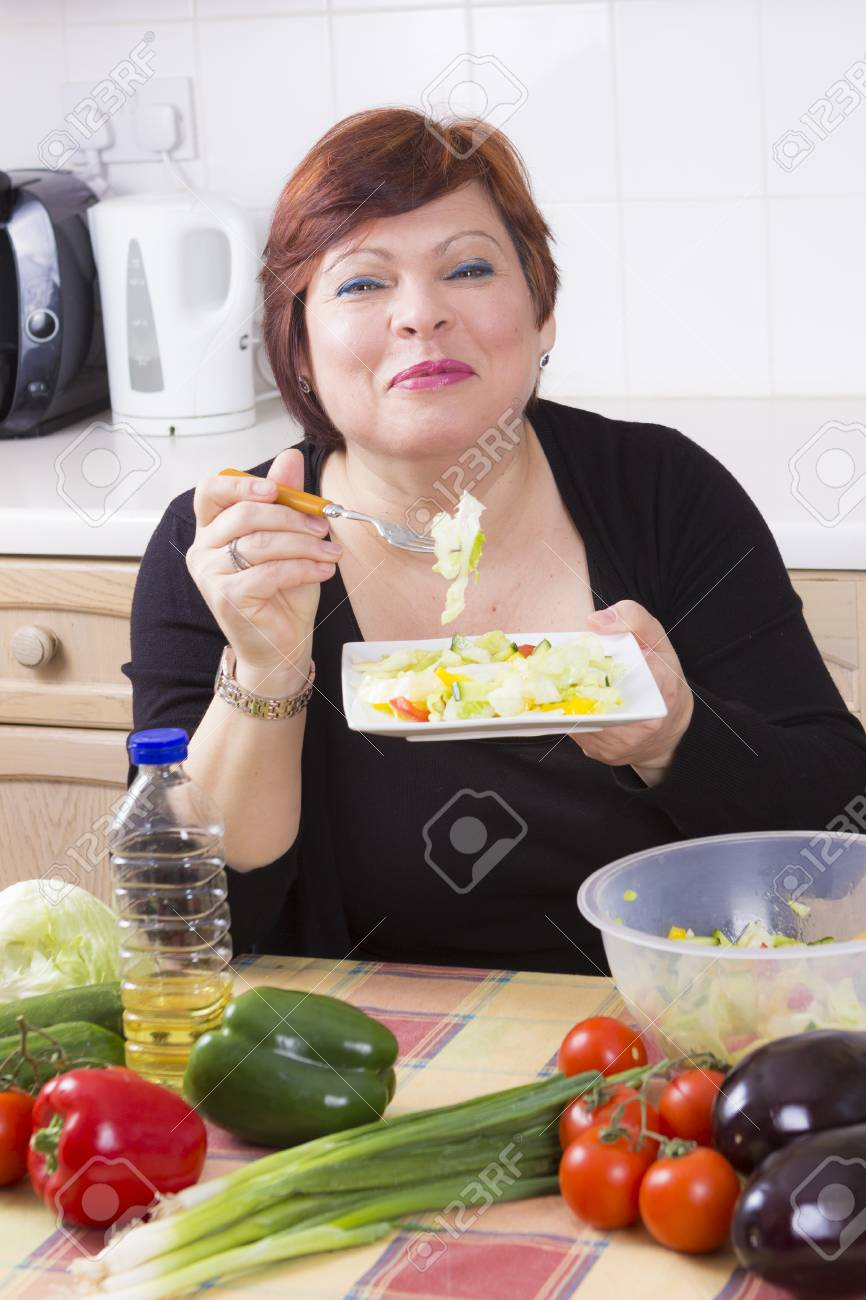 Mature women and nutrition