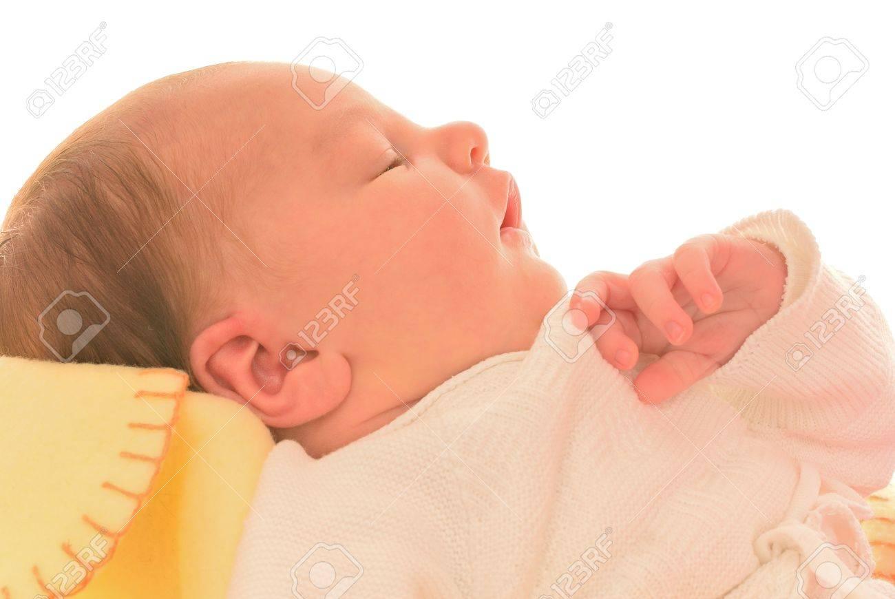 newborn sleeps Stock Photo - 13801911