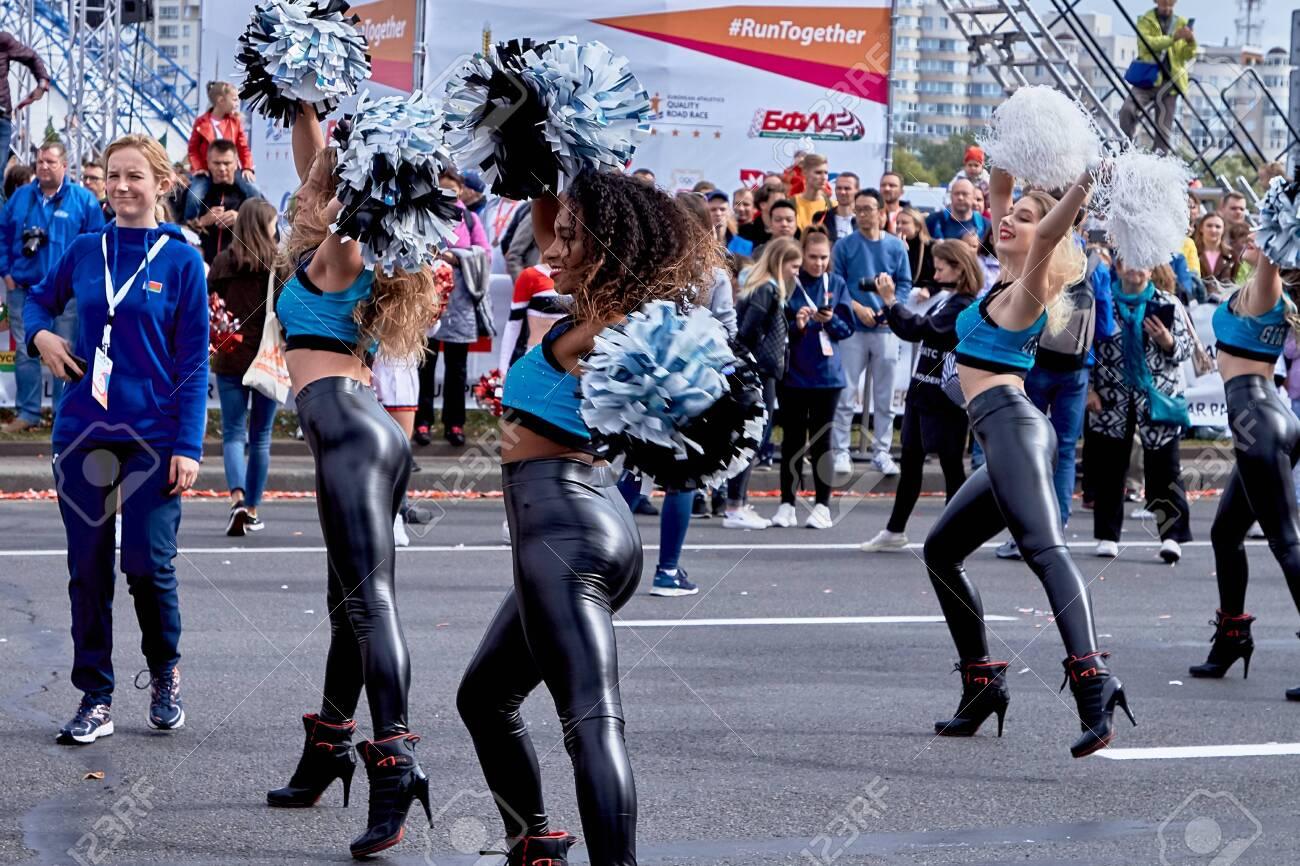 Half Marathon Minsk 2019 Running in the city - 156649710