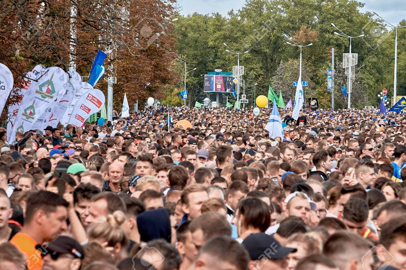 Half Marathon Minsk 2019 Running in the city - 154545121