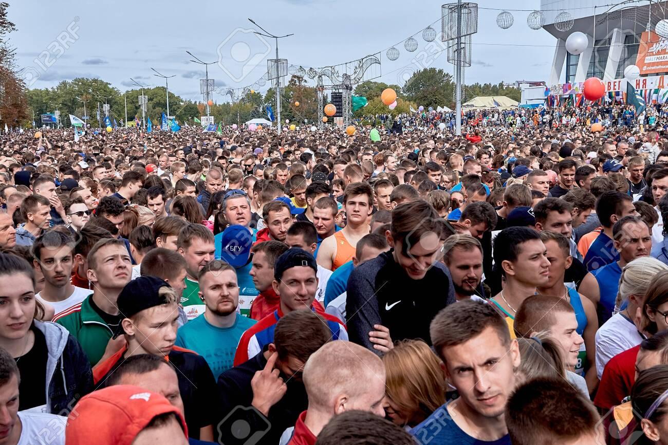 Half Marathon Minsk 2019 Running in the city - 156649700