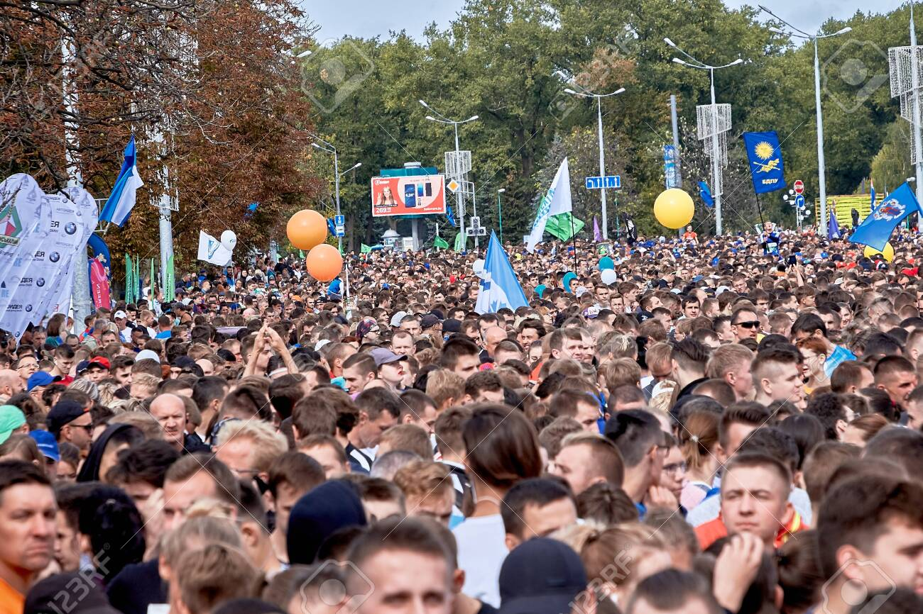 Half Marathon Minsk 2019 Running in the city - 156649698