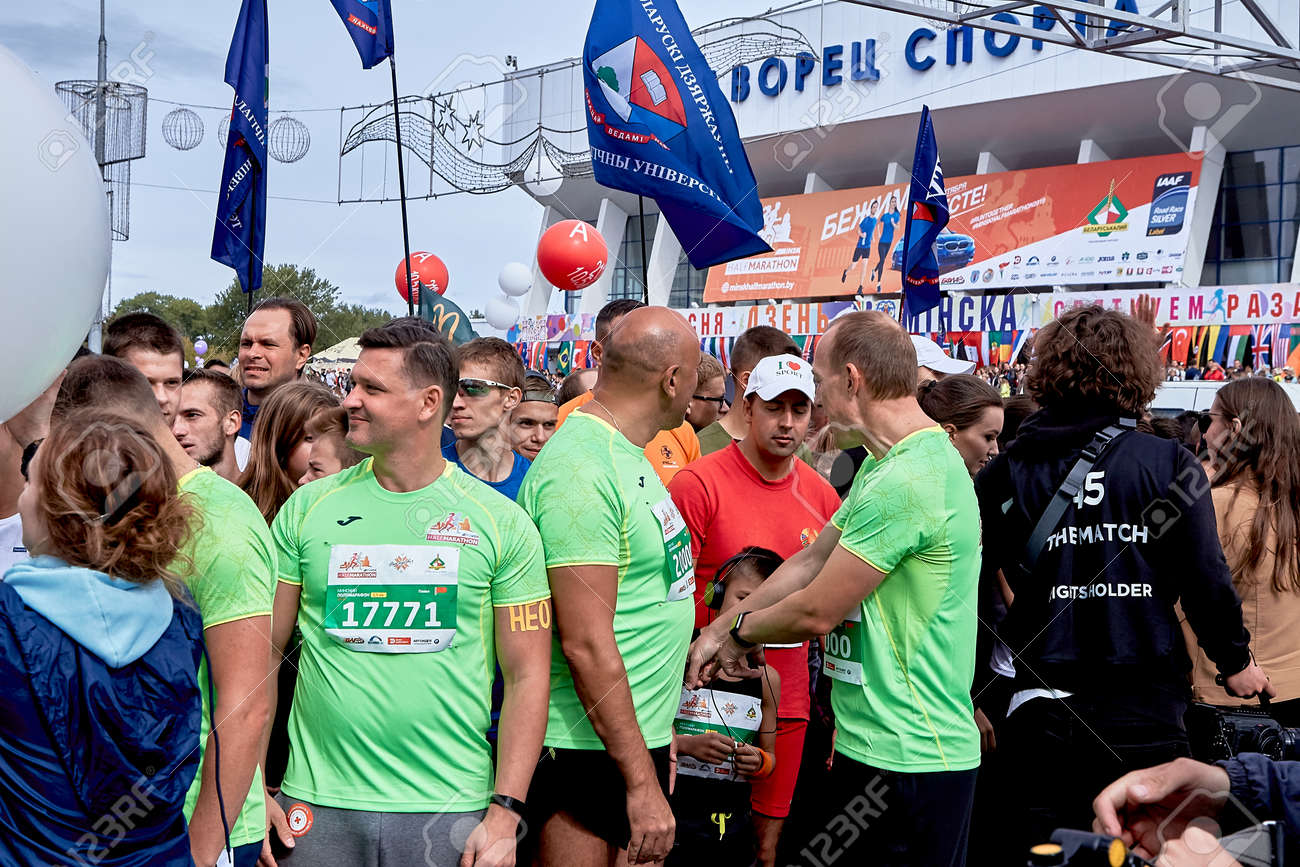 Half Marathon Minsk 2019 Running in the city - 156649695