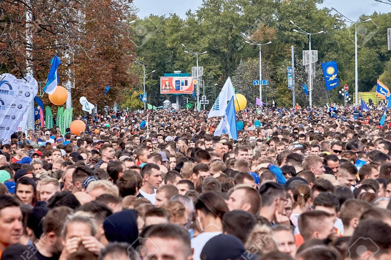 Half Marathon Minsk 2019 Running in the city - 156649691