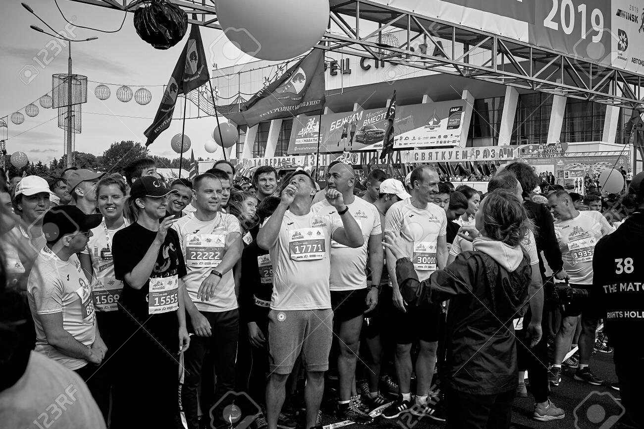 Half Marathon Minsk 2019 Running in the city - 156649687