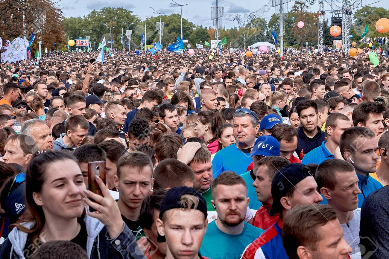 Half Marathon Minsk 2019 Running in the city - 156649685