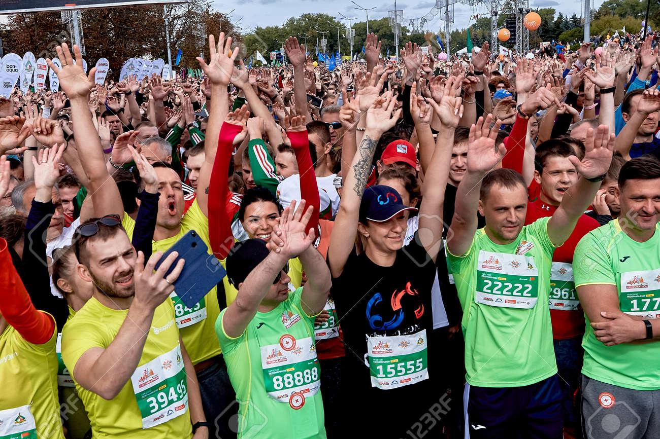 Half Marathon Minsk 2019 Running in the city - 158645846