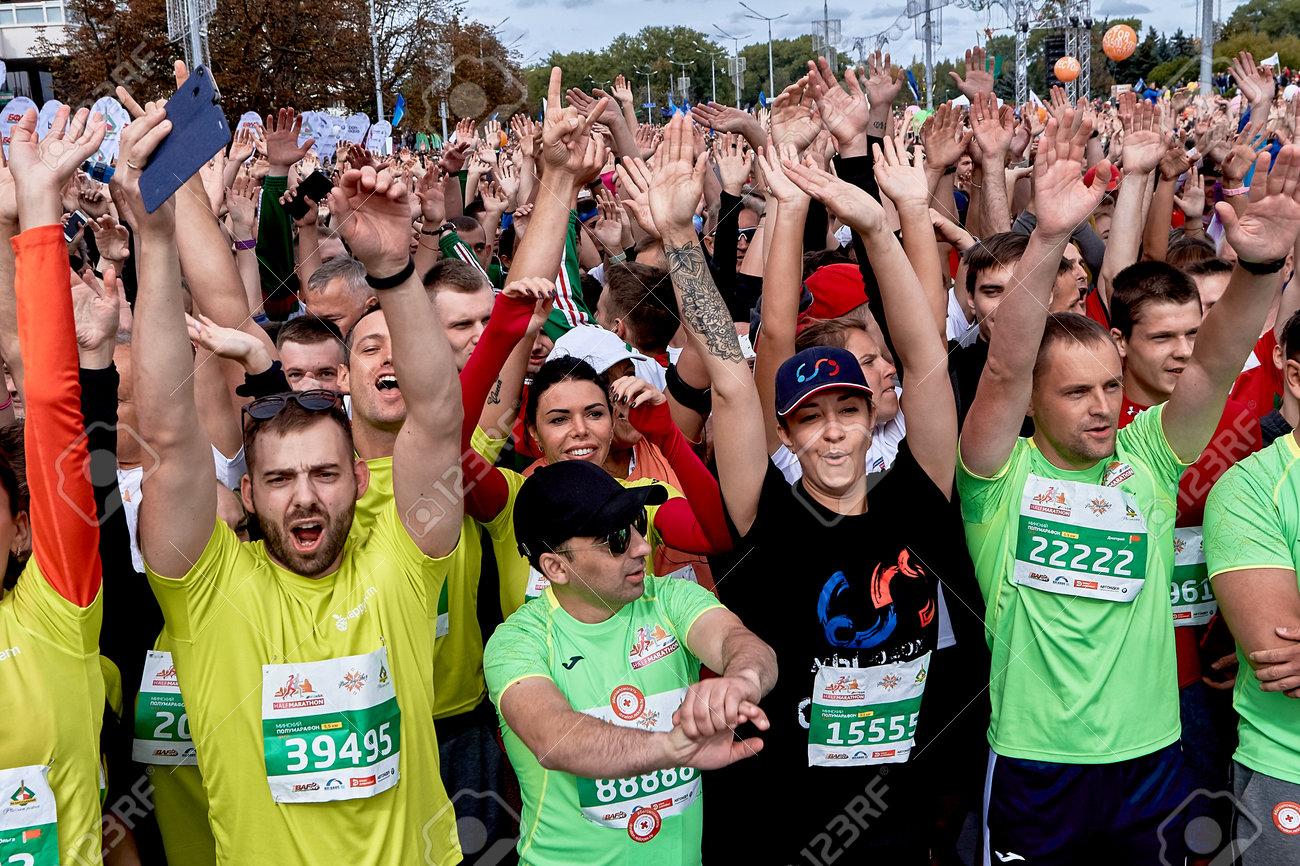 Half Marathon Minsk 2019 Running in the city - 165009960