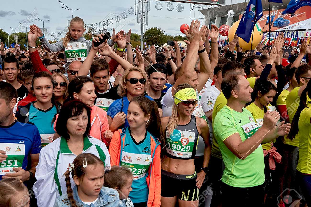 Half Marathon Minsk 2019 Running in the city - 163033798