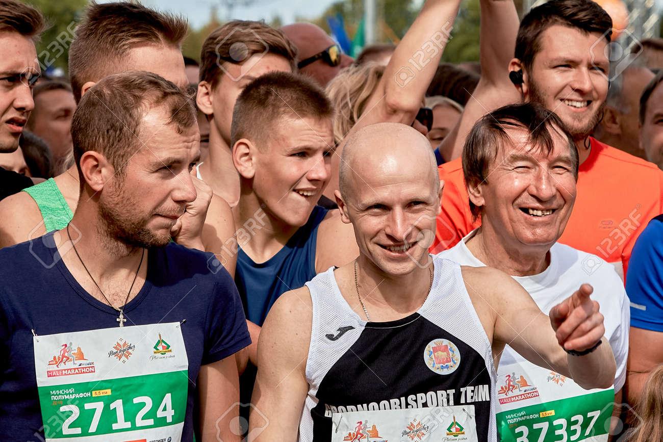 Half Marathon Minsk 2019 Running in the city - 163033792