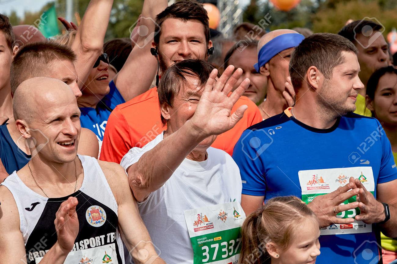 Half Marathon Minsk 2019 Running in the city - 165009954