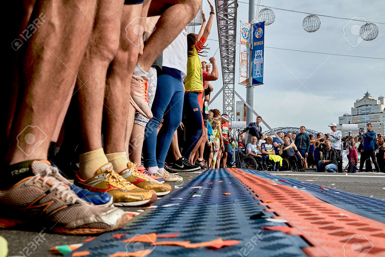 Half Marathon Minsk 2019 Running in the city - 165009952