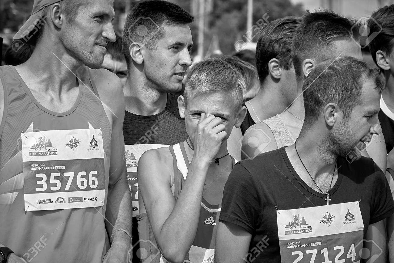 Half Marathon Minsk 2019 Running in the city - 165009951