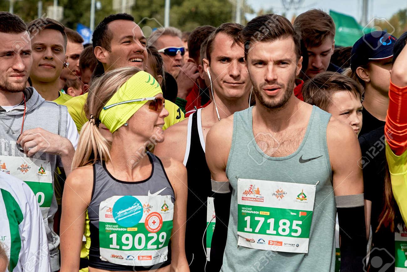 Half Marathon Minsk 2019 Running in the city - 165009948
