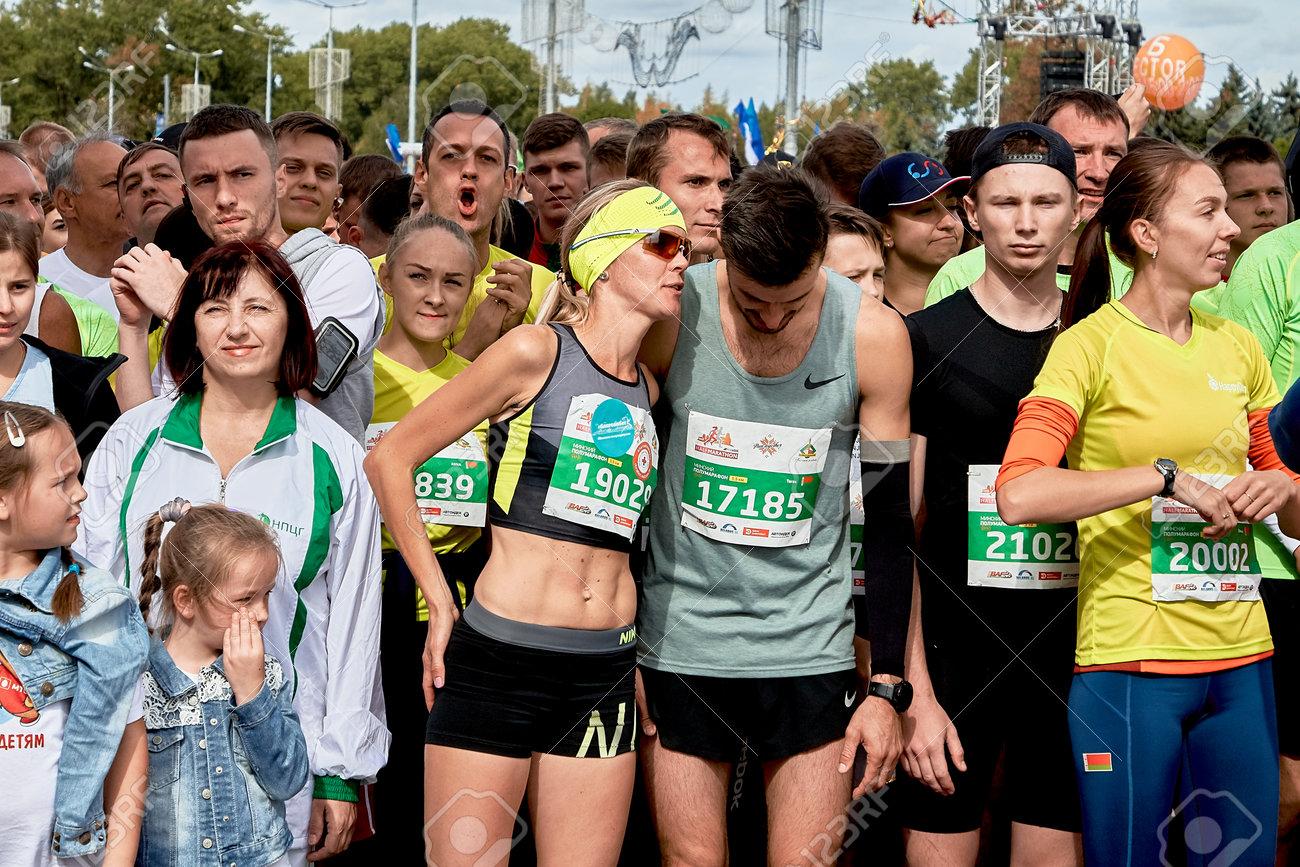 Half Marathon Minsk 2019 Running in the city - 165009942