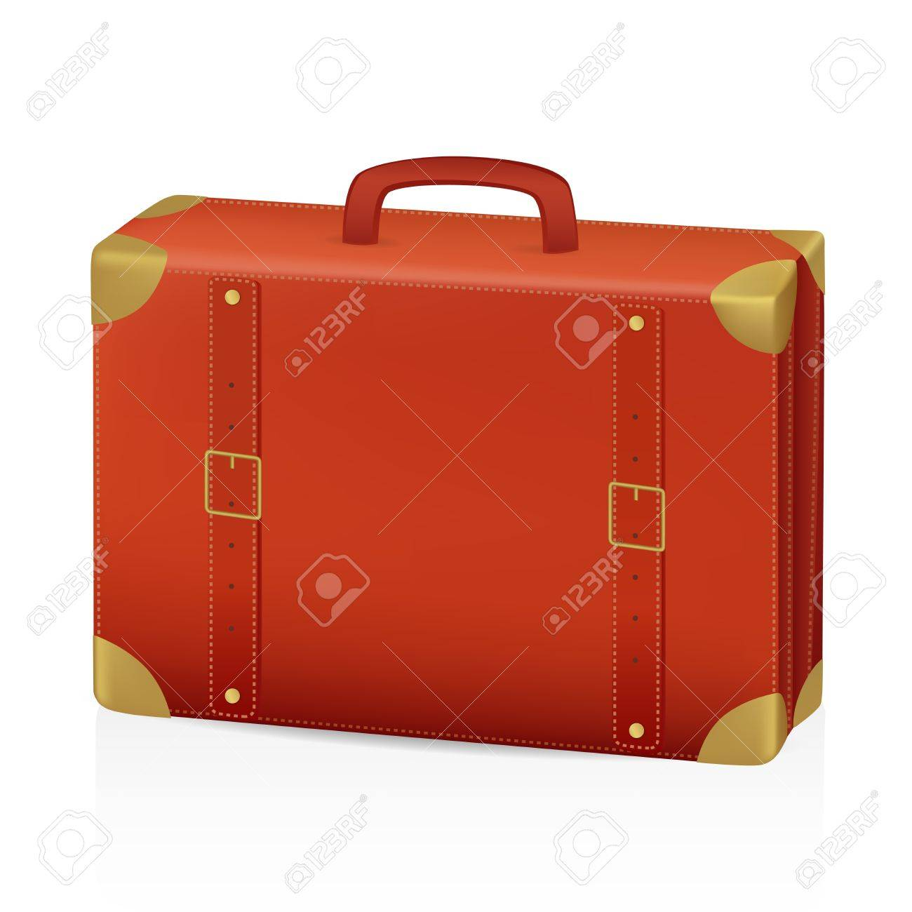Old Suitcase Vector Illustration Royalty Free Cliparts, Vectors ...