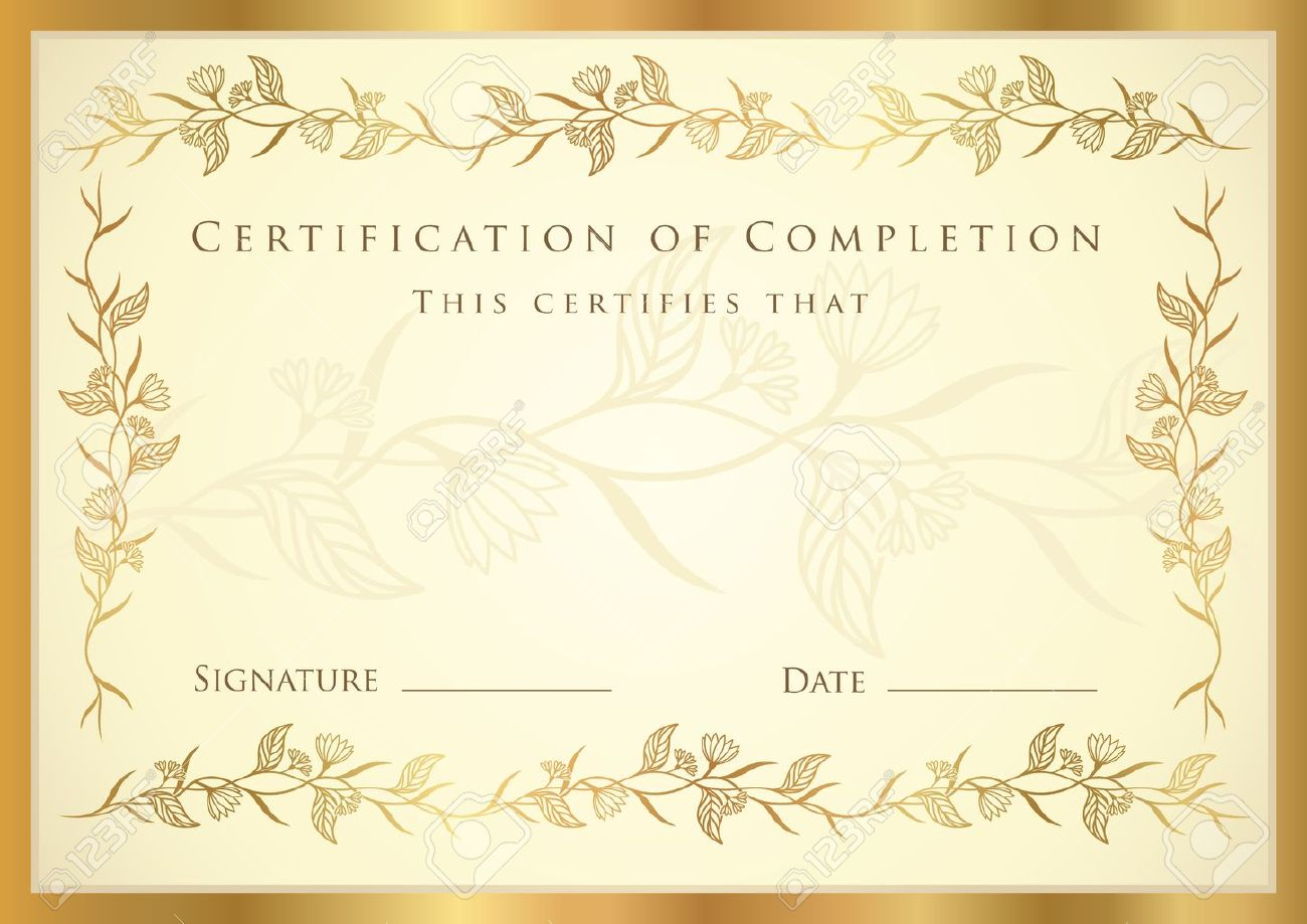 Doc1023744 Award Certificates Templates Free Free Printable – Blank Award Templates