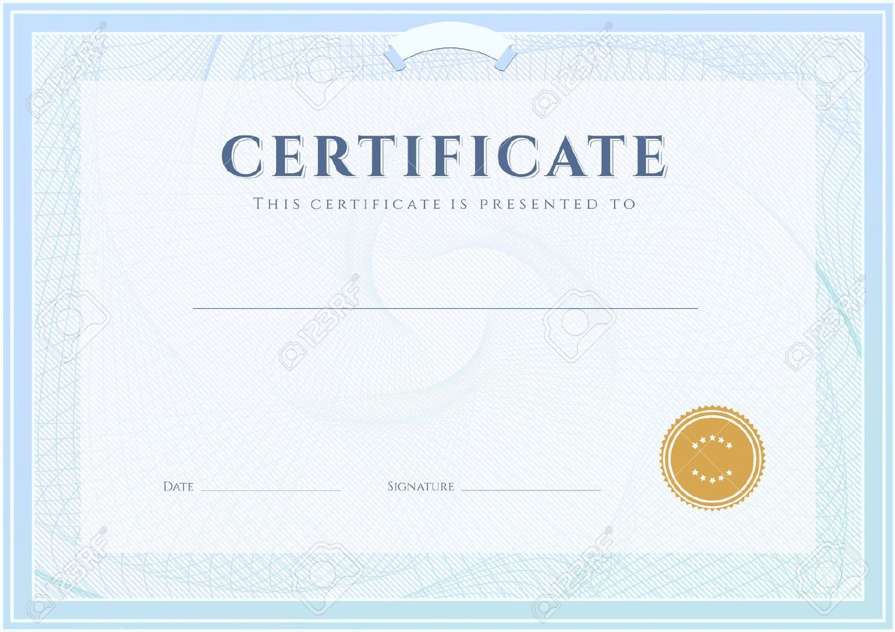certificate template stock photos images royalty certificate certificate template certificate diploma of completion design template background guilloche pattern watermark