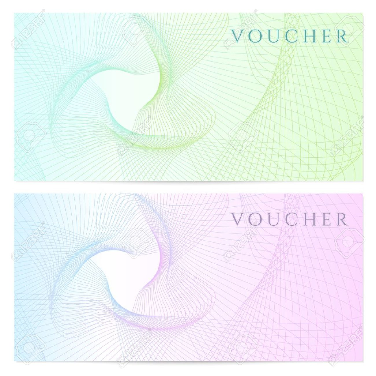 Gift Certificate (Voucher, Coupon) Template Royalty Free Stock ...