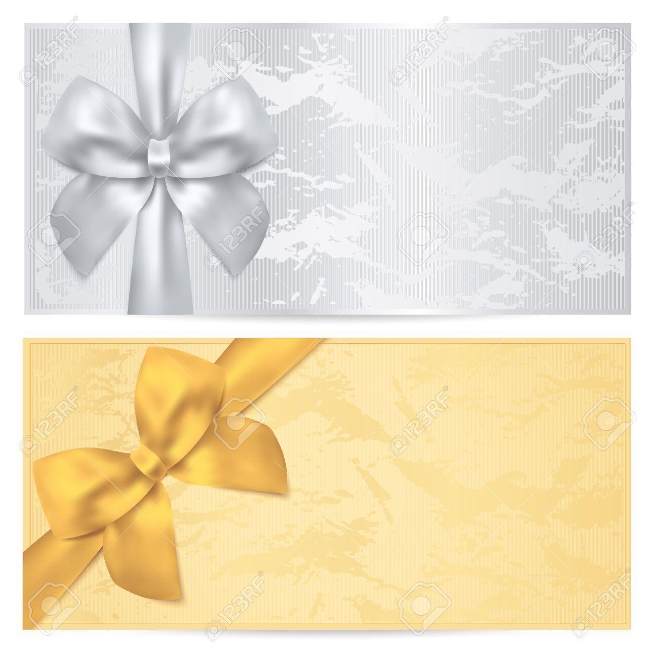 Подарочные купоны шаблоны
