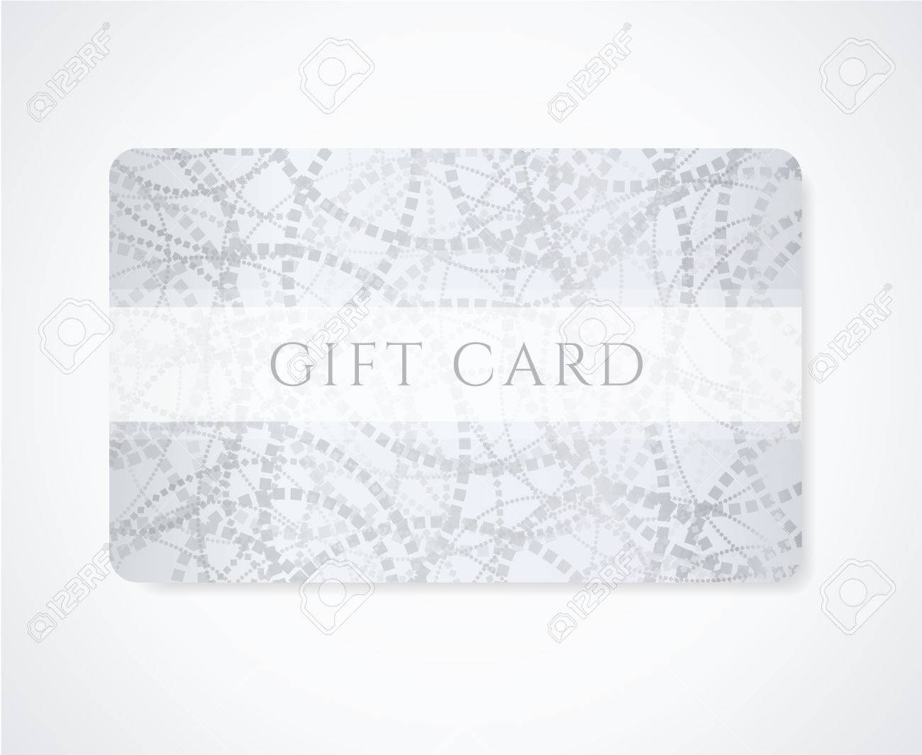 Gift Coupon, Gift Card Discount Card, Business Card With Abstract ...