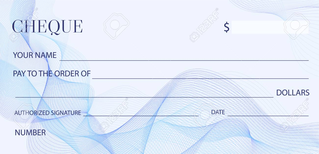 cheque check template chequebook template blank bank cheque